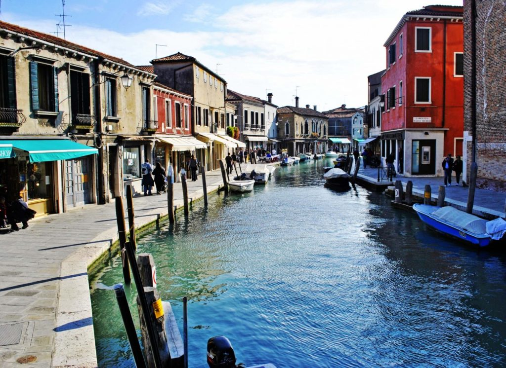 Canal Murano Venise