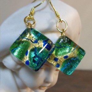 Boucles d'oreilles ARF Turquoises