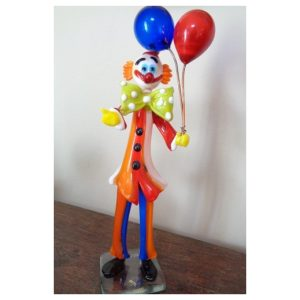 Clown aux ballons Generoso grand...