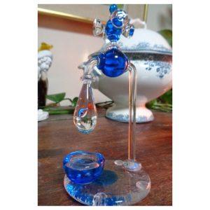 Sculpture robinet avec poisson tropical...