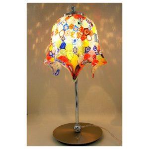 Lampe de table verticale avec...