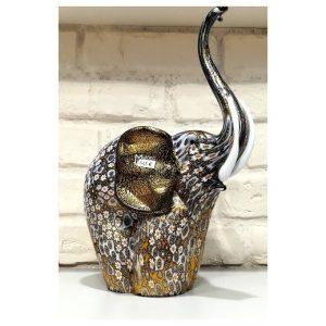 Sculpture éléphant en verre de...