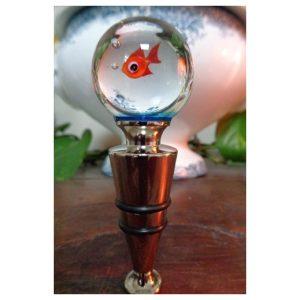 Bouchon de bouteille poisson rouge