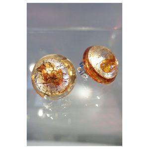Boucles d'oreilles clips ambrées